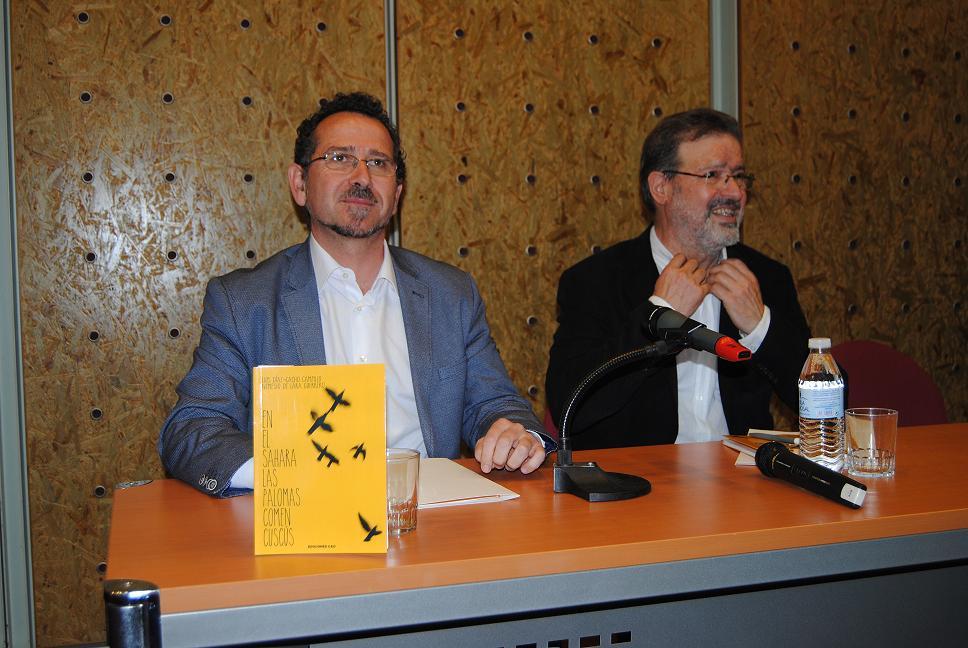 El compromiso social guía el primer poemario de Luis Díaz-Cacho y Nemesio de Lara juntos