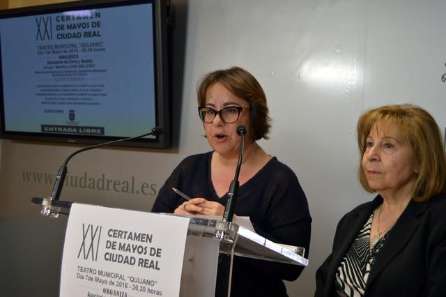 Cinco asociaciones folklóricas protagonizan el XXI Certamen de Mayos de Ciudad Real