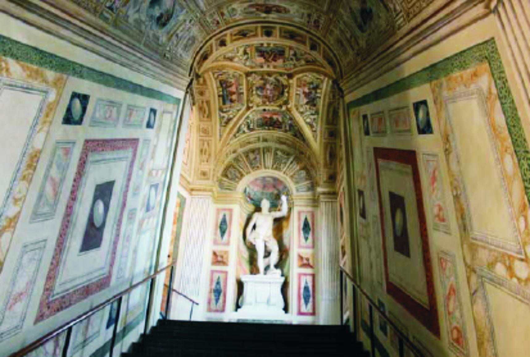 Palacio del Marqués de Santa Cruz, interior