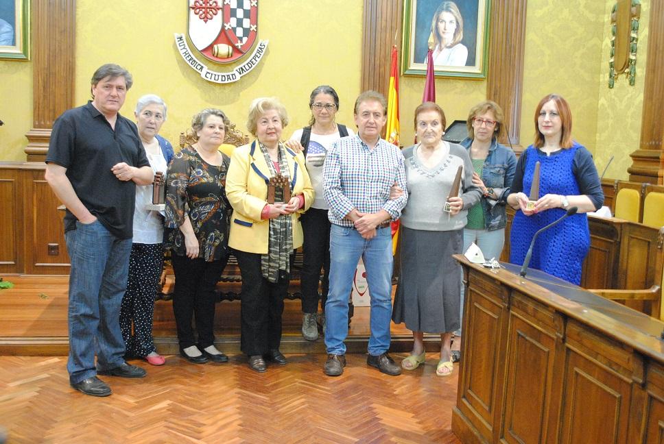 Entregados en Valdepeñas los premios del Concurso de Embellecimiento de Balcones