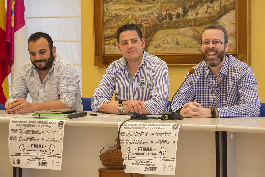 Presentación fase final de la Copa Senior Ciudad Real de Baloncesto