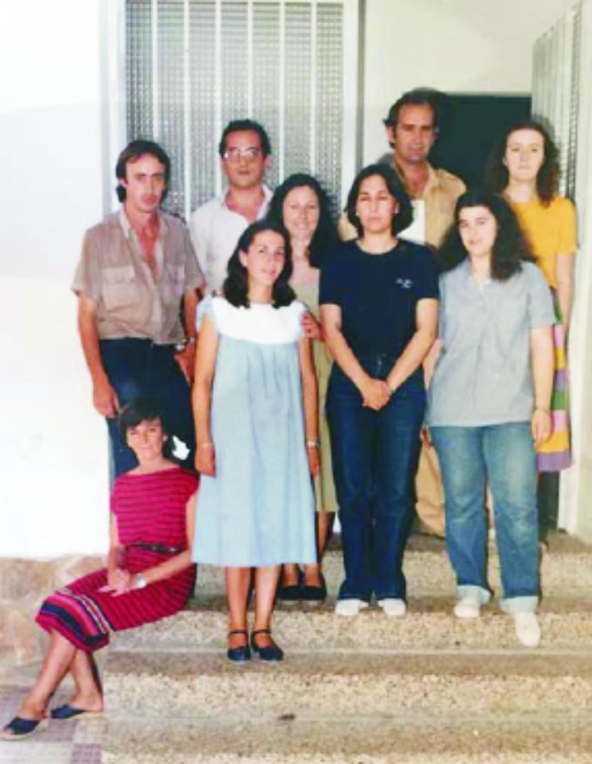 Primeros docentes del Colegio Santo Tomás