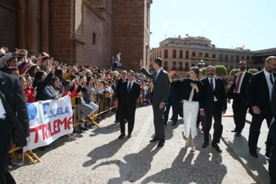 SS. MM. los Reyes visitan Villanueva de los Infantes