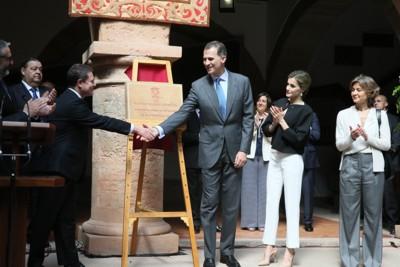 Visita de los Reyes a Villanueva de los Infantes