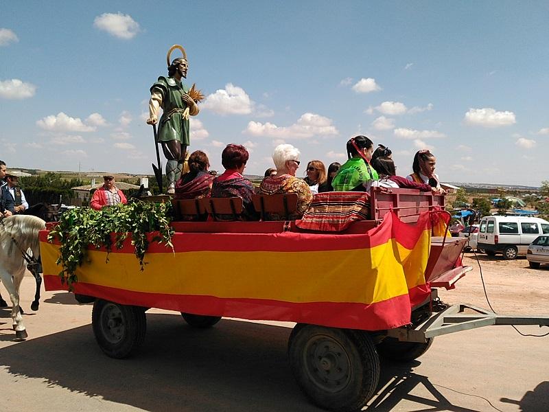 San Isidro prepara un día soleado en Alcázar para celebrar su festividad