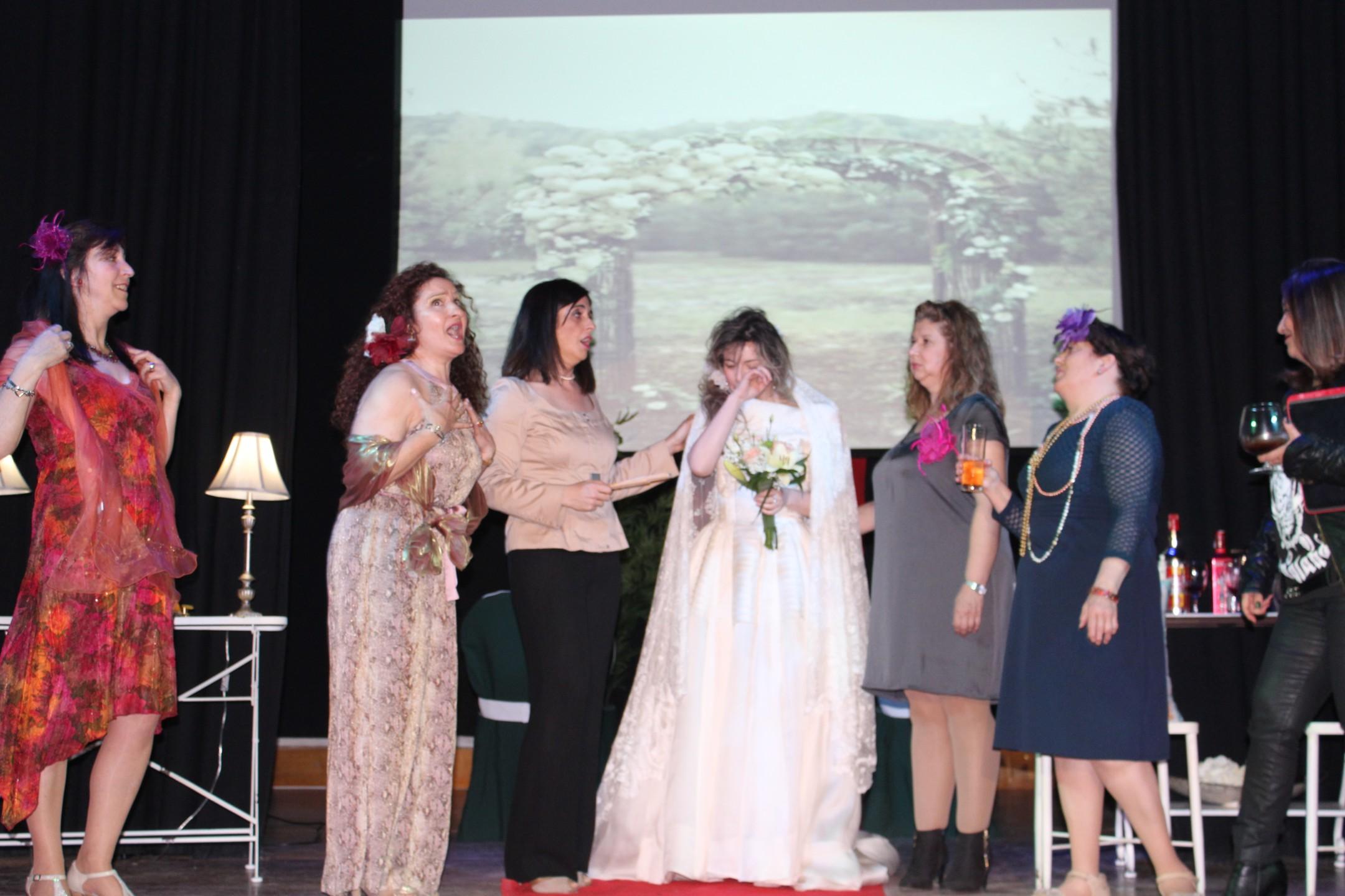 Éxito de público en la representación de Siete Mujeres por Teatro Quo