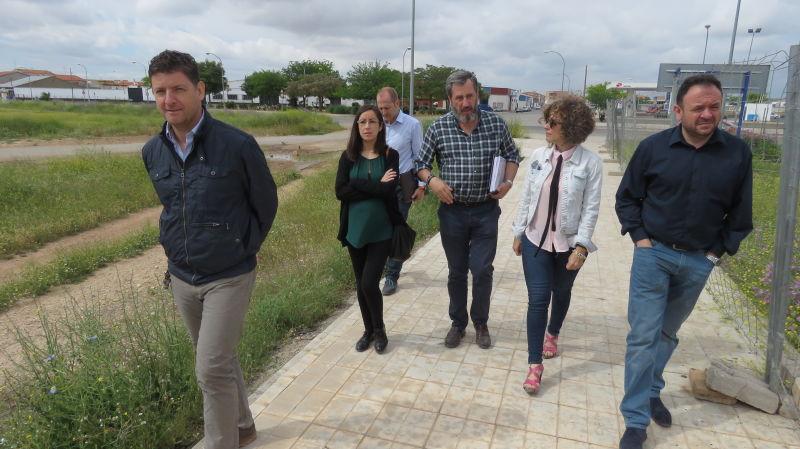 """Avance importante en las obras del nuevo colegio """" Divina Pastora """" de Manzanares"""