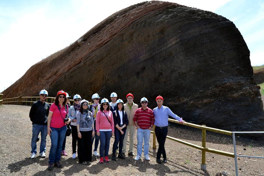 """Comienza el Taller de Empleo """"Agua y Volcanes del Parque Cultural de Calatrava"""""""