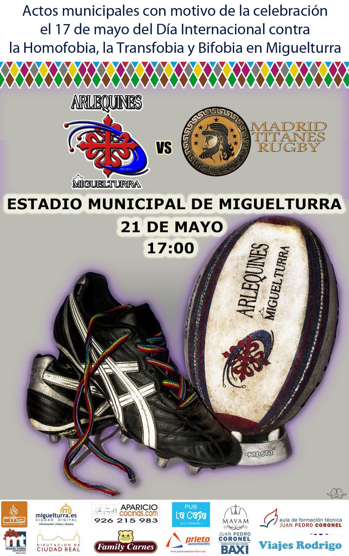 cartel rugby lgbt