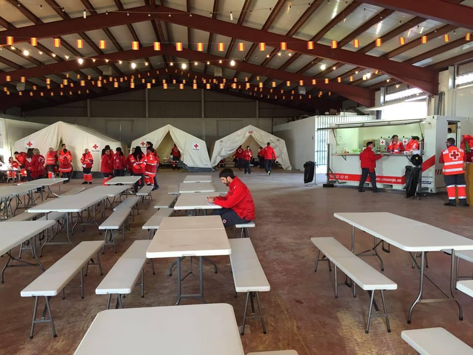 Activado el ERIE de Manzanares para ayudar a los desalojados en el incendio de Seseña