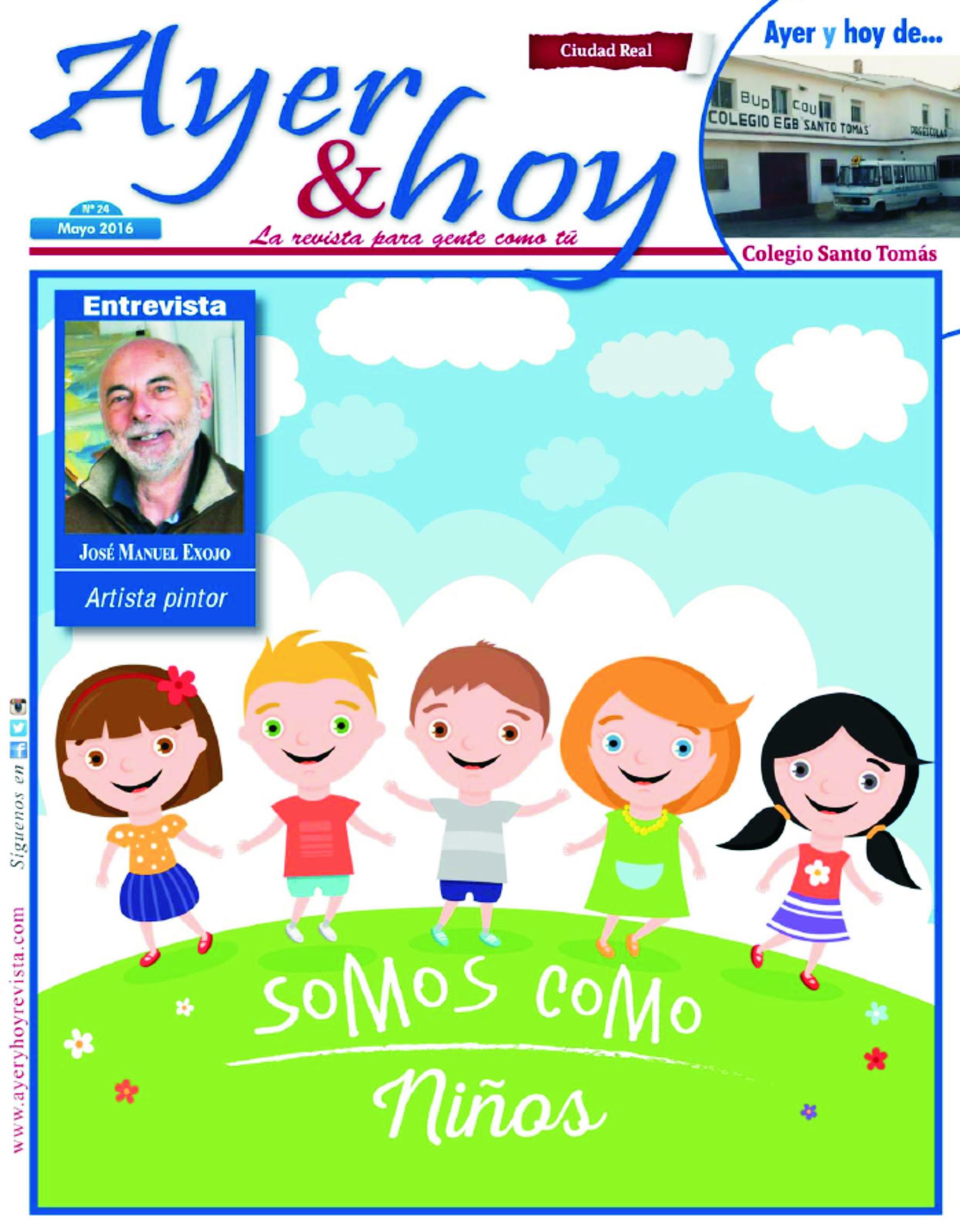 Revista de Mayo 2016 – Ciudad Real