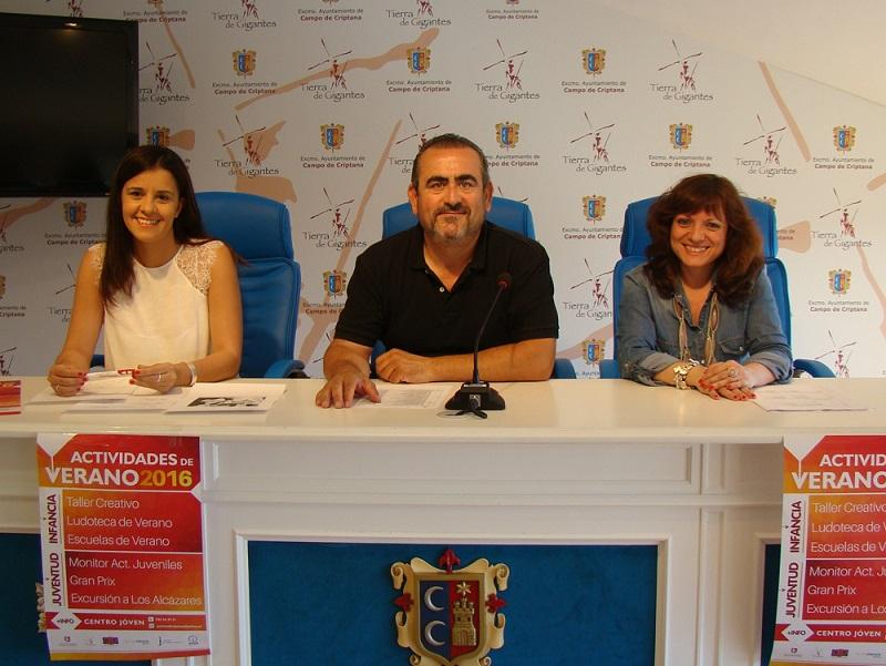 Variada y atractiva oferta deportiva, juvenil e infantil para el próximo verano criptanense