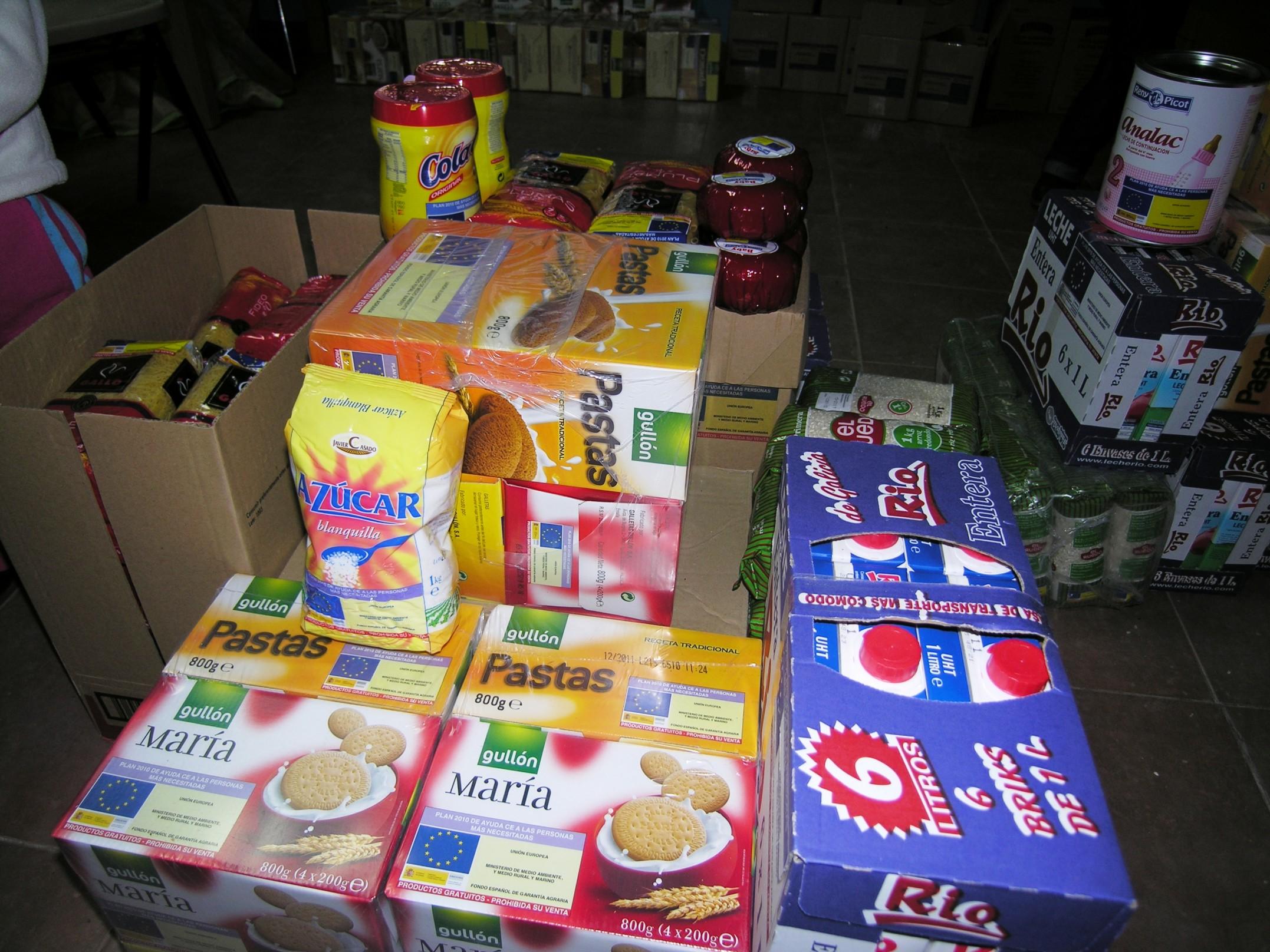 26 familias se benefician en Infantes del Programa de Ayuda Alimentaria 2016