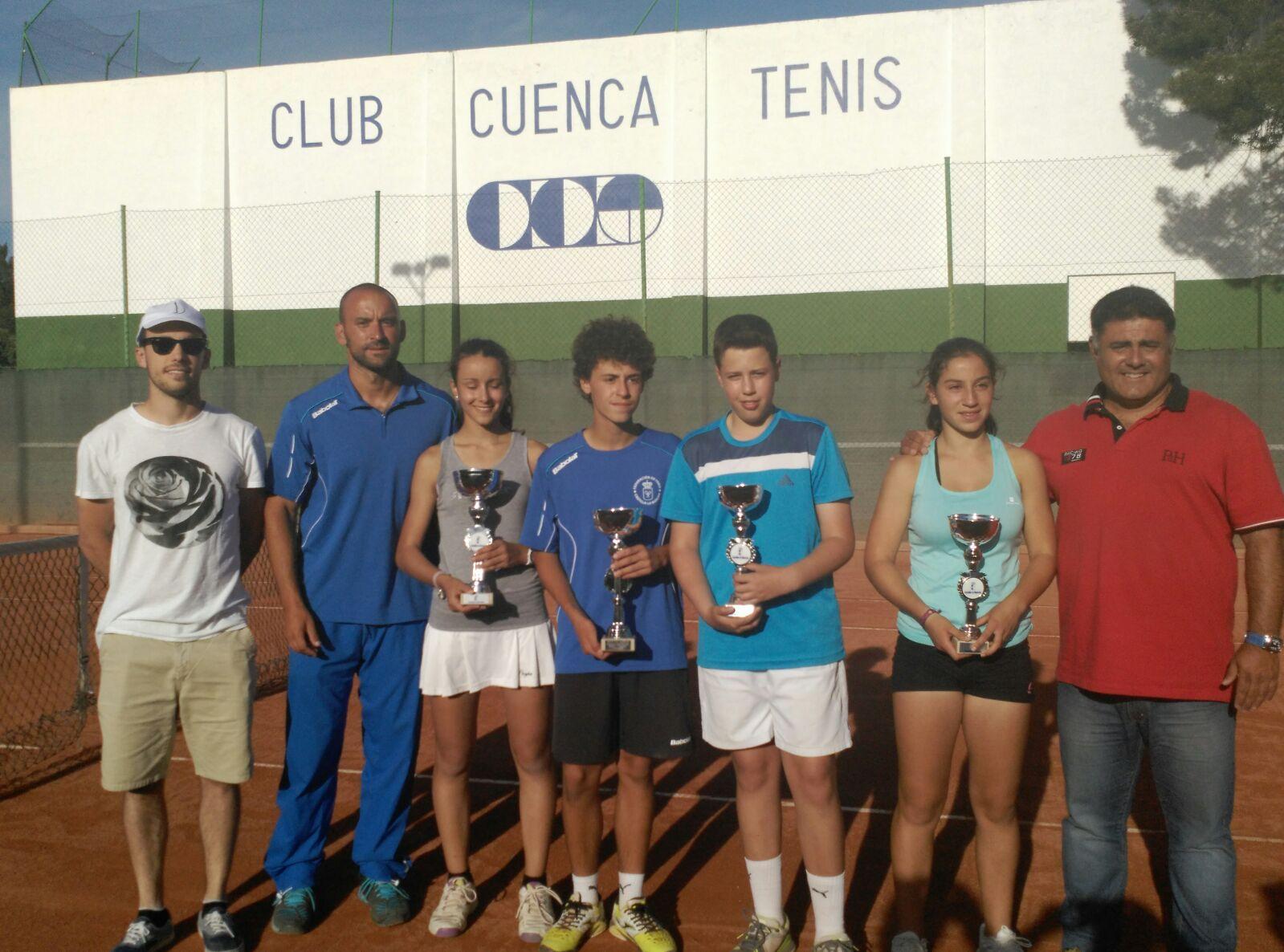 Finalizado el Campeonato regional de tenis en edad escolar celebrado en Cuenca