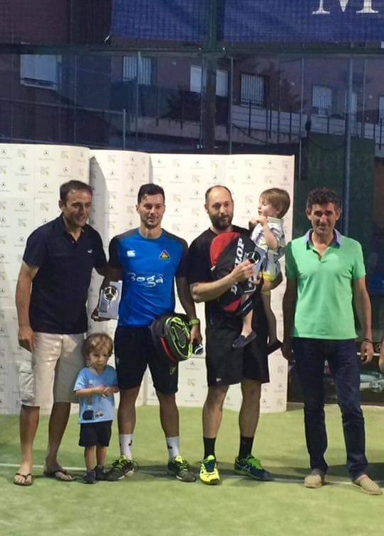 Campeones del Torneo Autotrak de Pádel