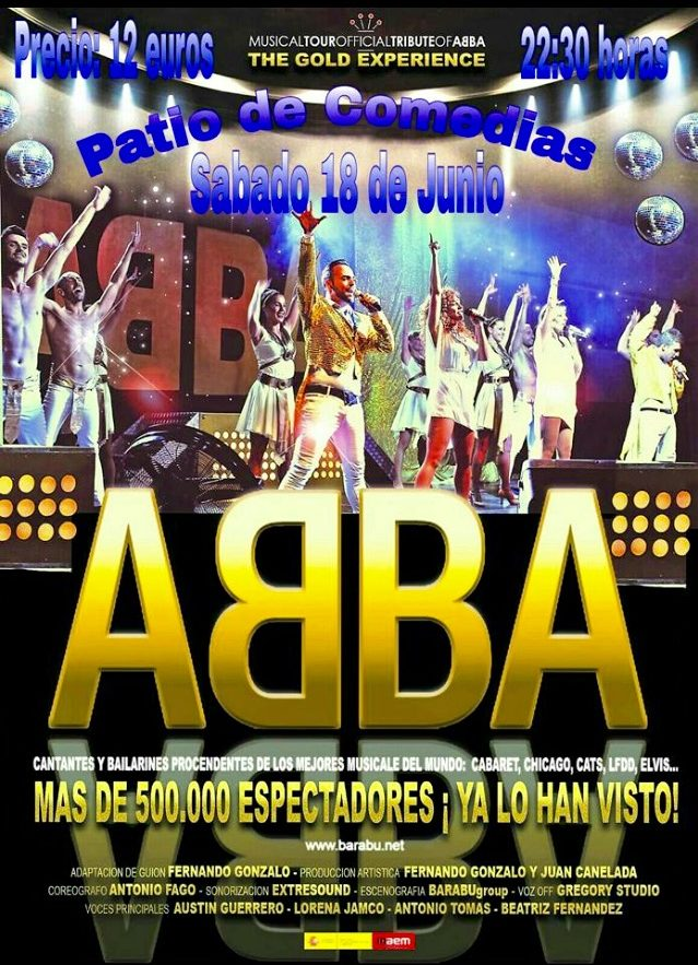 Cartel ABBA The Gold Experience