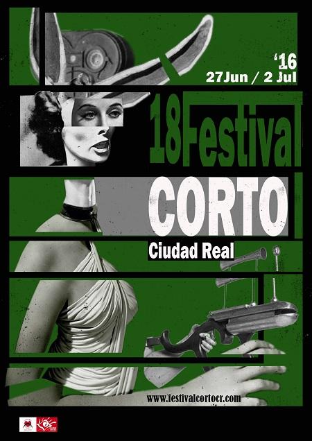 Cartel Festival Corto Ciudad Real