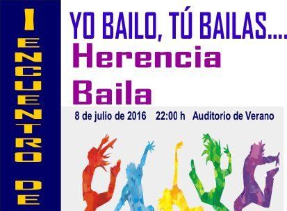 """I Encuentro de Danza Yo Bailo, Tú Bailas… """"Herencia Baila"""""""