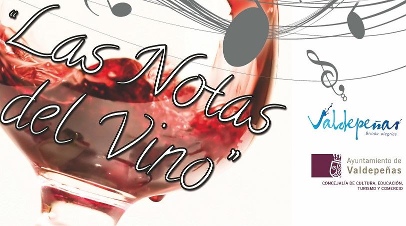 Cartel Las Notas del Vino