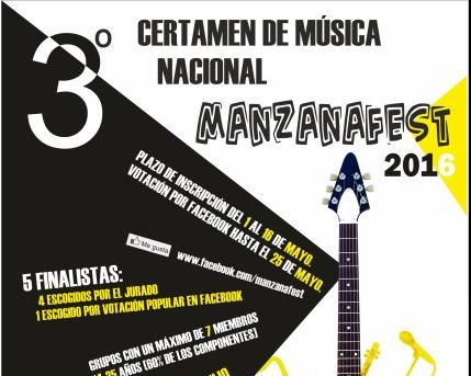 """Ya están seleccionados los grupos para el Certamen de Música Nacional """" ManzanaFest """""""