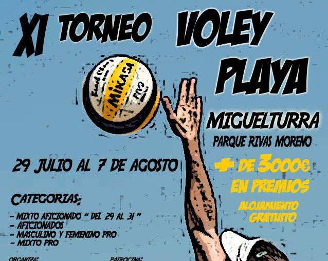El undécimo Torneo Vóley Playa ya está en Miguelturra