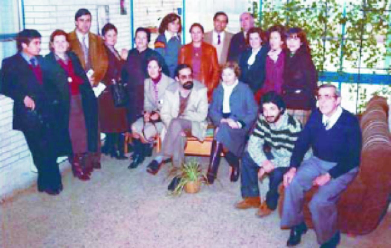 Claustro de 1981. Colegio El Santo