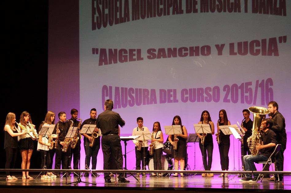 La Escuela de Música clausura el curso con una multitudinaria audición final