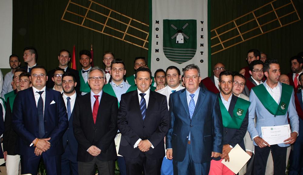 Lucas-Torres anuncia nuevas líneas de ayuda y subvenciones para los alumnos de la EFA Molino de Viento