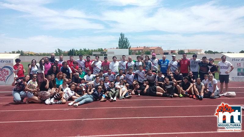Miguelturra acogió la primera Concentración Provincial de Rugby, Trofeo Diputación de Ciudad Real 2016