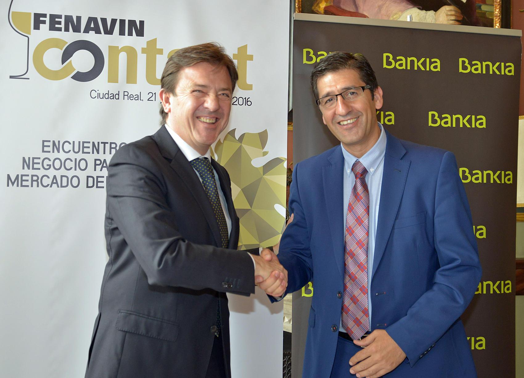 Convenio de Bankia con la Diputación para Fenavin Contact