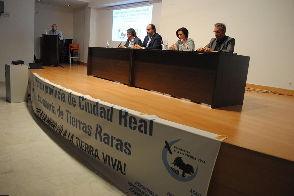 Jesús Martín reitera su rechazo al proyecto de tierras raras