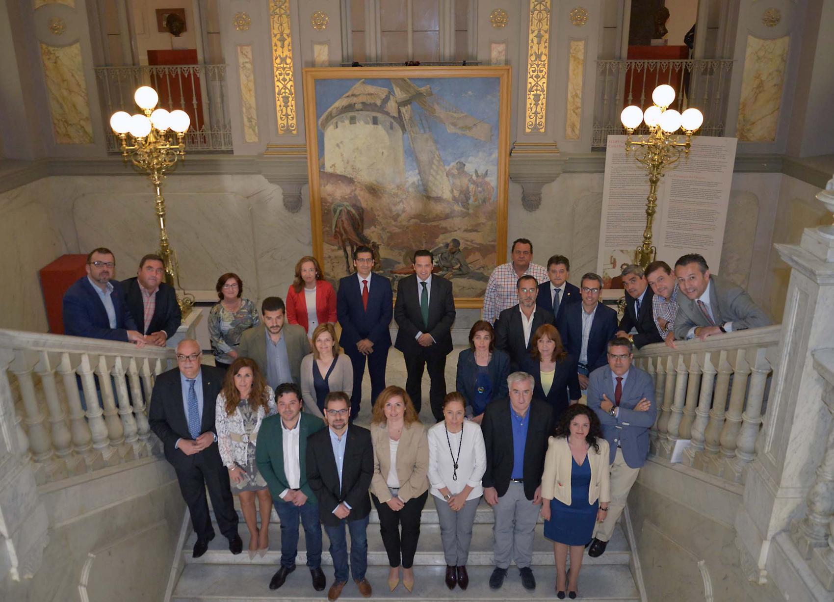 La Corporación Provincial celebra el IV Centenario de la muerte de Miguel de Cervantes