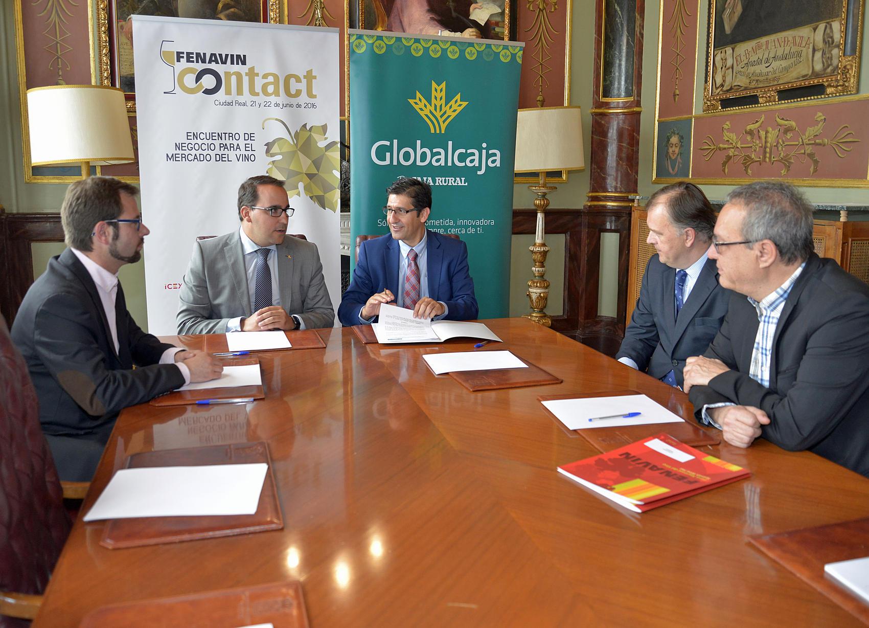 La organización del encuentro de negocio FENAVIN CONTACT recibe 12.000 euros de Globalcaja