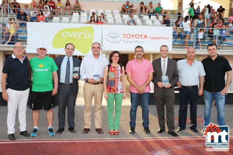 Inauguración campus de futbol 2016 de Miguelturra