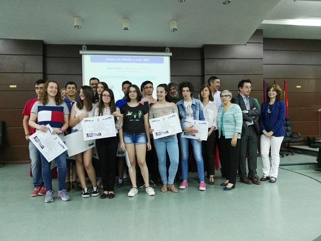La UCLM clausura el programa de Estímulo del Talento Matemático para estudiantes de Secundaria