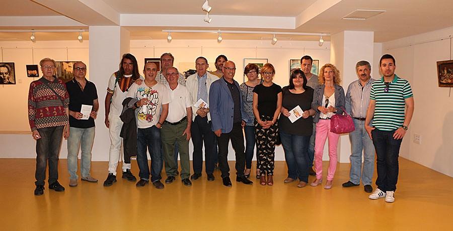 """Las obras del colectivo """" MANZANARes Arte """" llega al Centro de Artes de La Solana"""