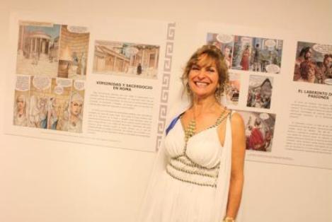 """Manchacómic contará con la prestigiosa exposición """"Mujeres de Roma a través del arte  de cómic"""""""