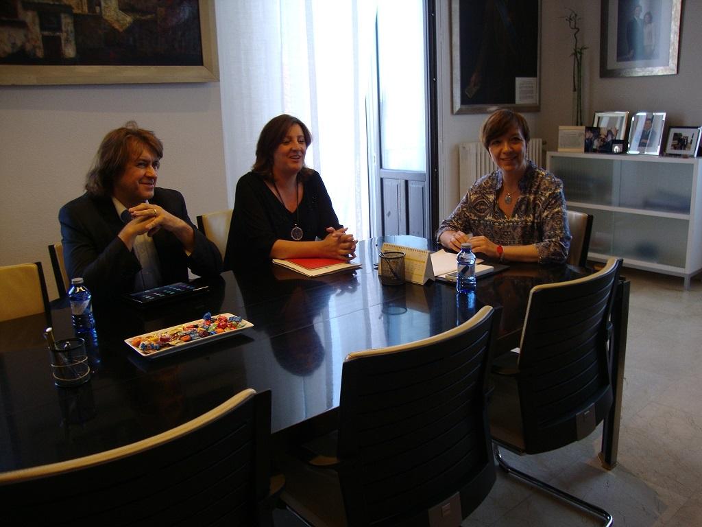 Visita de la consejera de Economía, Empresas y Empleo, Patricia Franco a Alcázar de San Juan