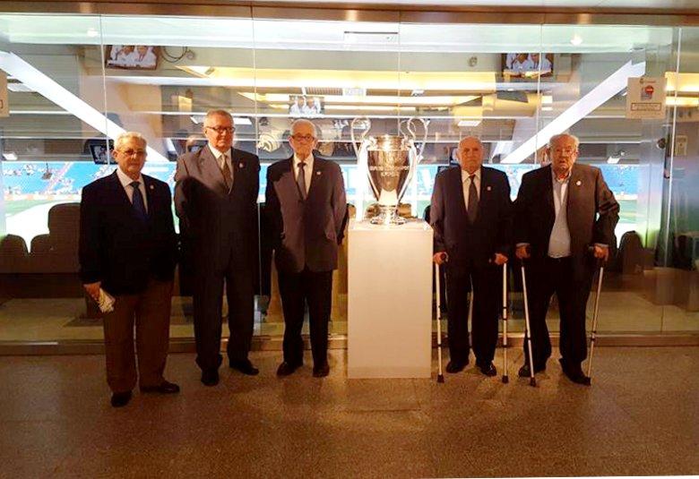 Los peñistas decanos del Real Madrid son daimieleños