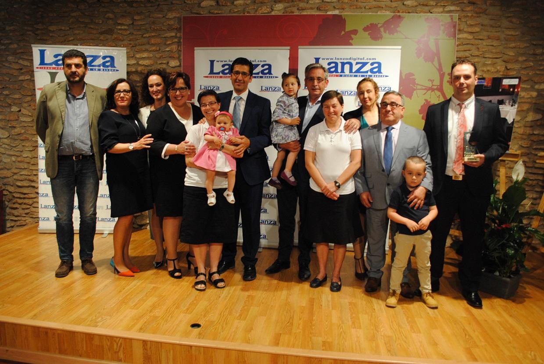 El diario Lanza reconoció el trabajo de Hogar de Nazaret y la trayectoria de Restaurante Europa