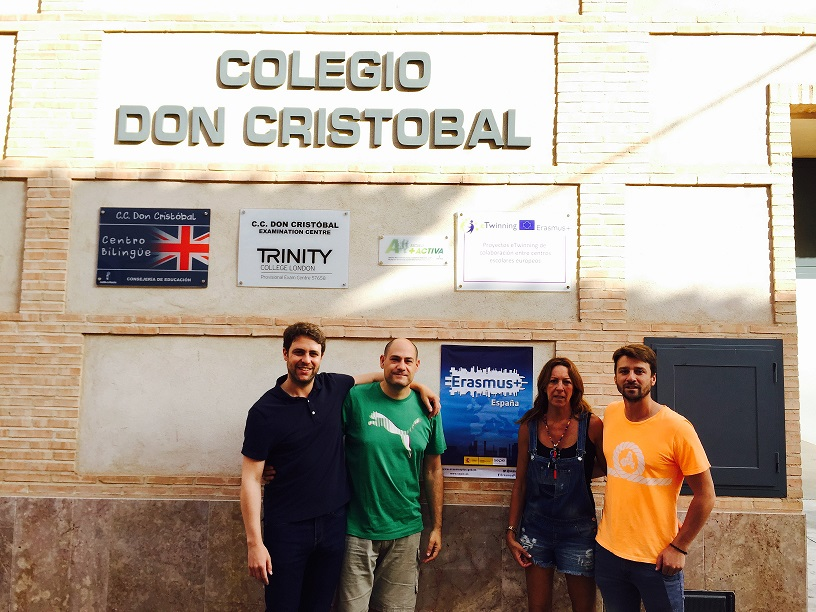 Nuevo proyecto europeo de formación Erasmus + KA1 concedido a los docentes del Colegio Concertado Don Cristóbal de Manzanares