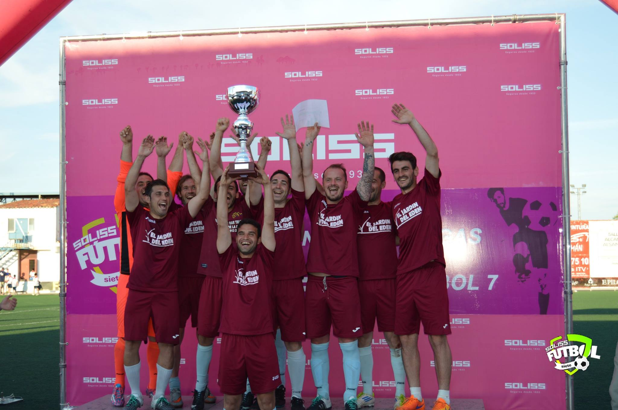 """Manzanares acogió la """"champions"""" del fútbol 7 aficionado de Castilla-La Mancha"""