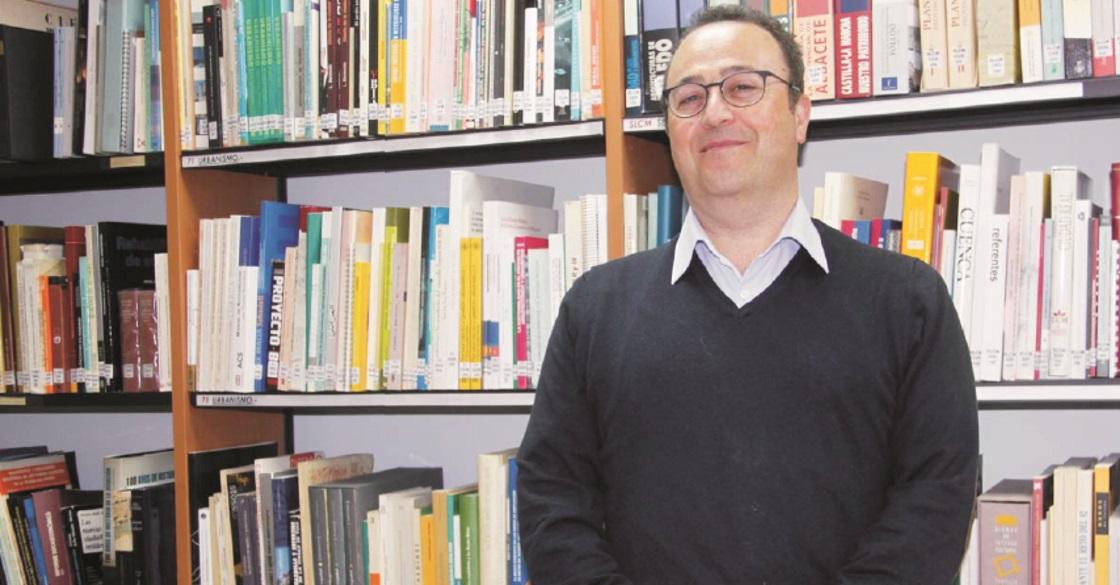 Teodoro Sánchez Migallón. Presidente del Colegio de Arquitectos de Ciudad Real