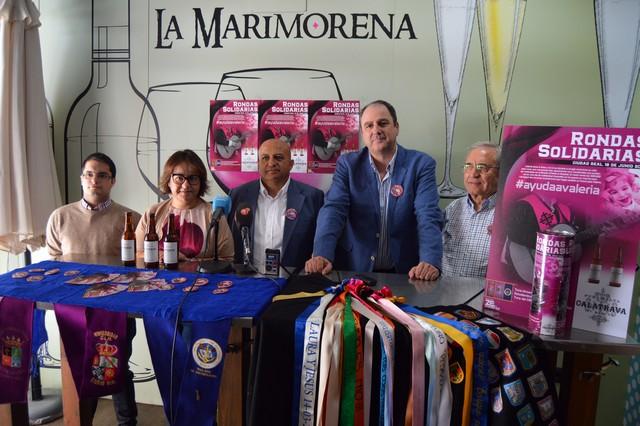 Tunas de Sevilla, Ciudad Real y Pedro Muñoz realizarán rondas para sacar fondos para Valeria