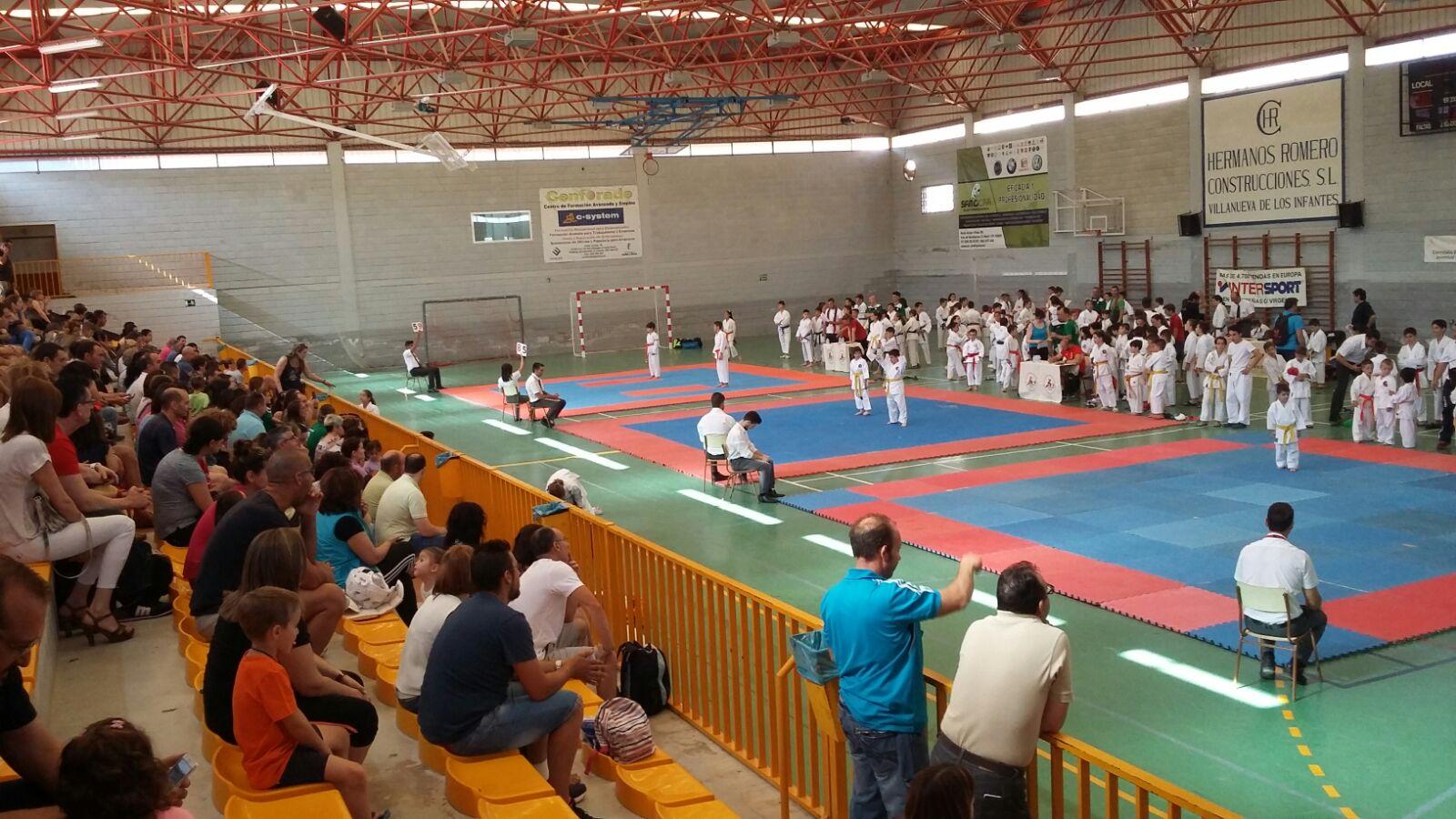 Infantes acogió el V Campeonato Kárate Shotokan