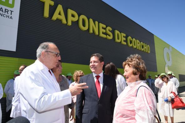Visita a las instalaciones de Gruart La Mancha (GLM) y Miguel Bellido S.A.