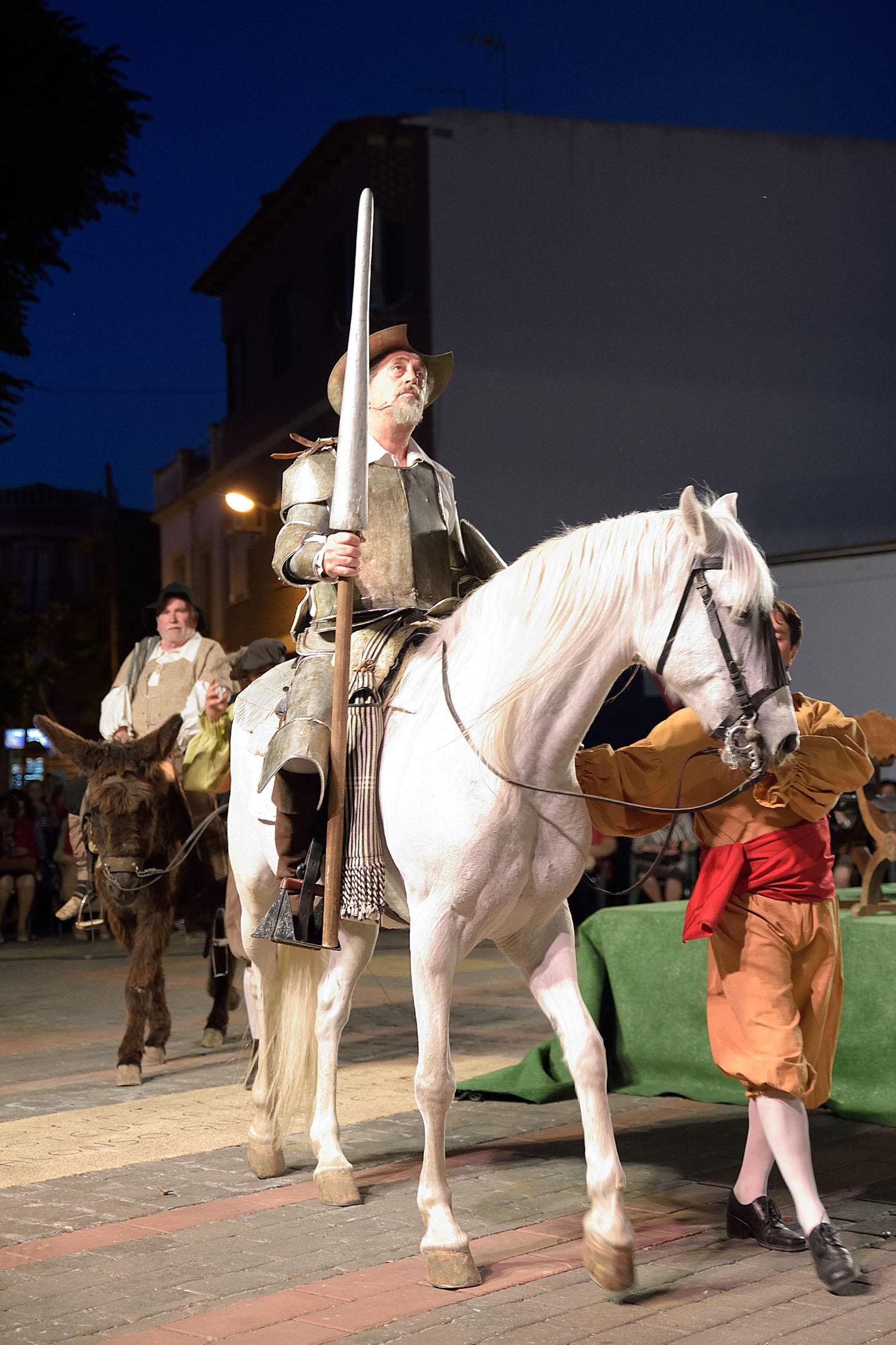 Don Quijote vuelve a echarse a la calle en Argamasilla de Alba