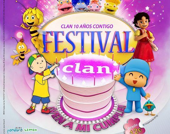 Clan celebra en Manzanares su décimo aniversario con la gira 'Ven a mi cumple', un gran festival musical con los amigos del canal