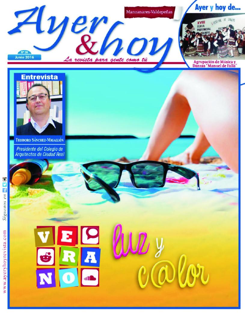 Revista de Junio 2016 – Manzanares – Valdepeñas