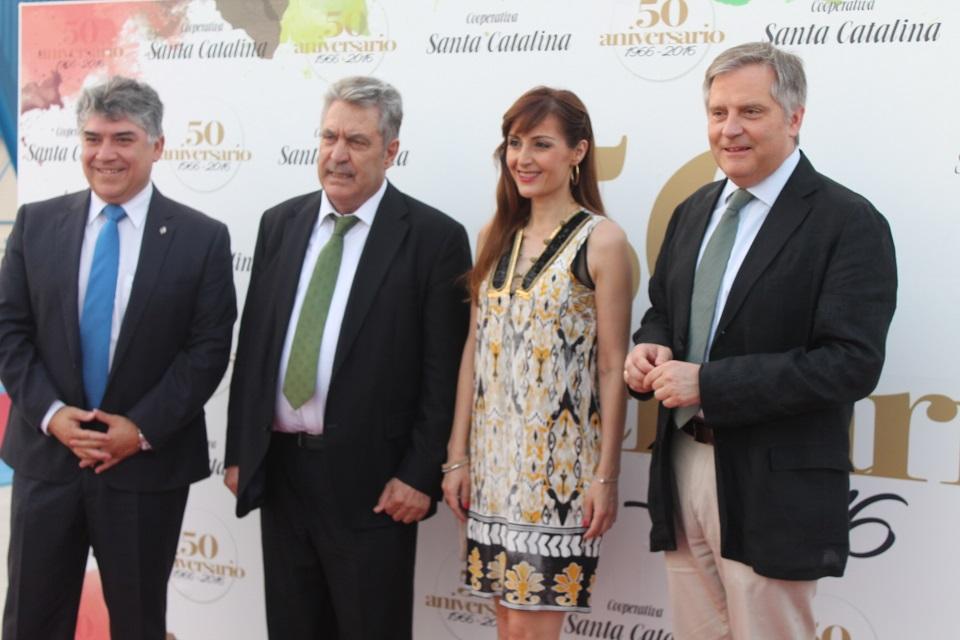 50 aniversario Cooperativa Santa Catalina, invitados